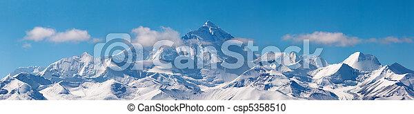 Mount Everest - csp5358510