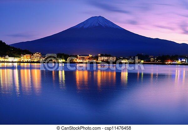 Mount Fuji - csp11476458