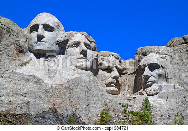 Mount Rushmore National Memorial - csp13847211