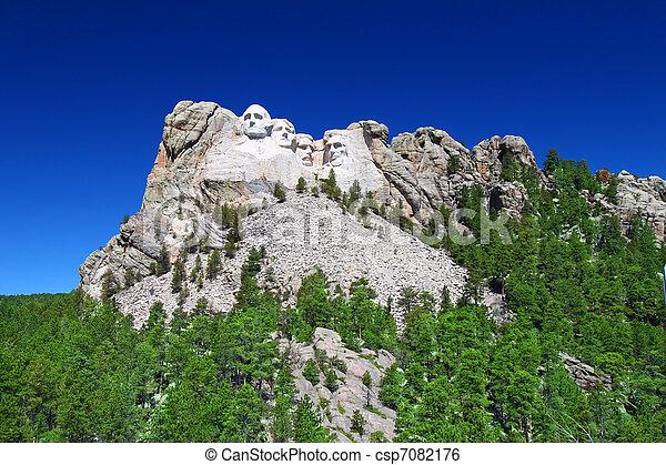 Mount Rushmore National Memorial - csp7082176