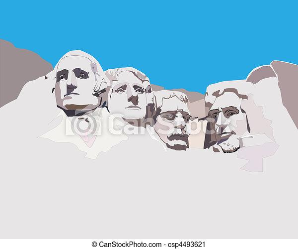 Mount Rushmore National Memorial - csp4493621