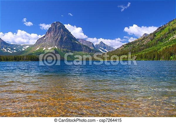 Mount Sinopah - Glacier National Park - csp7264415
