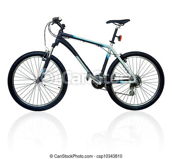 Mountain bicycle bike - csp10343810