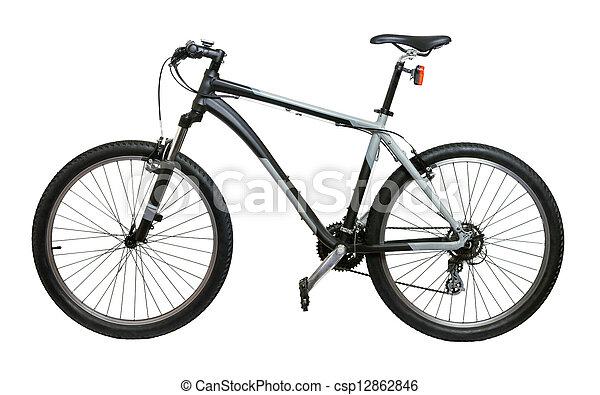 Mountain bicycle bike - csp12862846