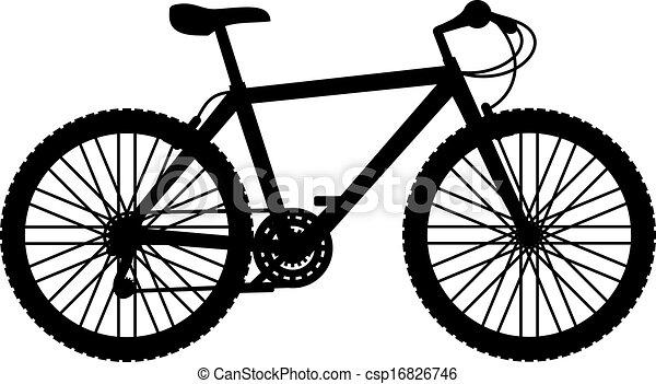 Creative Design Of Mountain Bike Eps Vector
