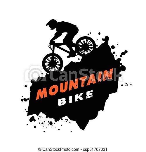 Mountain Bike Trials Emblem