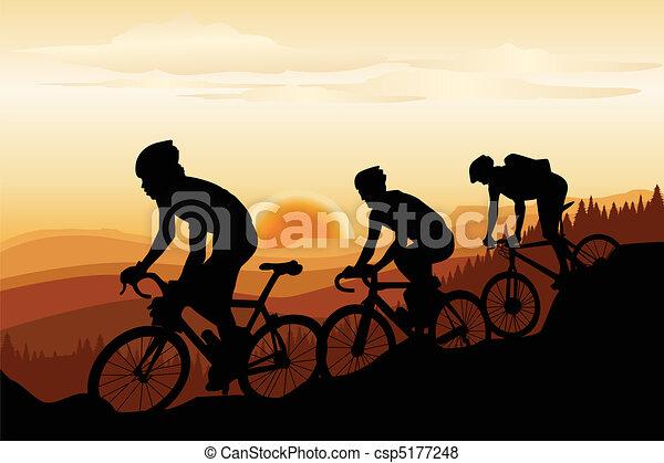 Mountain biking - csp5177248