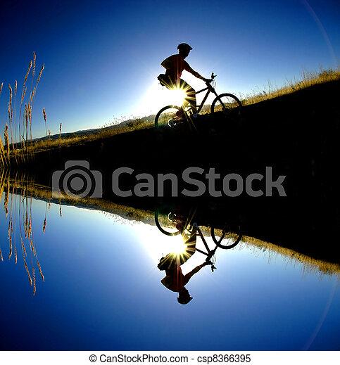 Mountain Biking - csp8366395