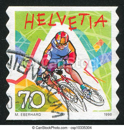 Mountain biking - csp10335304