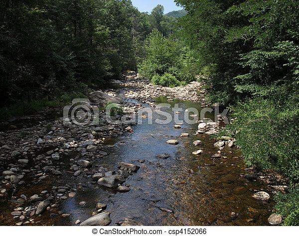 Mountain flow - csp4152066