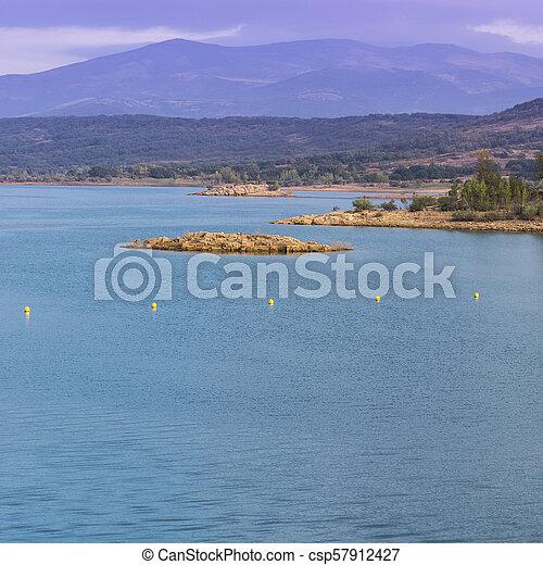 Mountain lake in Spain - csp57912427