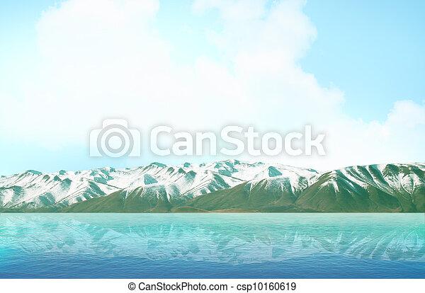 Mountain lake - csp10160619
