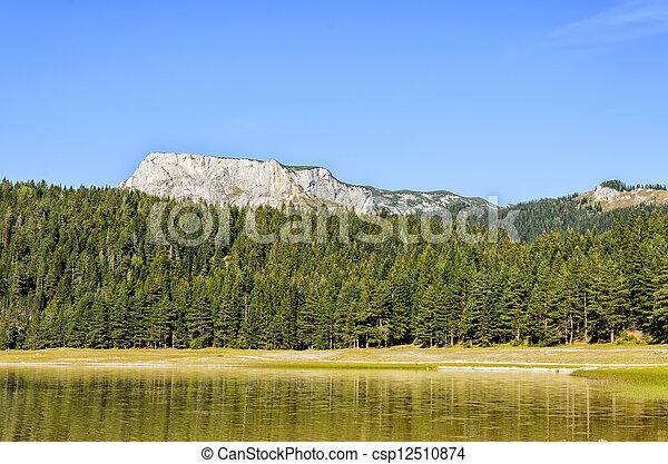 Mountain lake - csp12510874