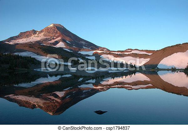 Mountain lake - csp1794837