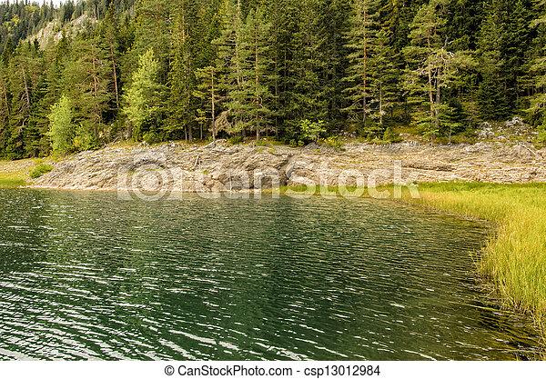Mountain lake - csp13012984