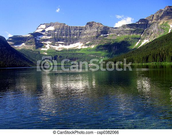 Mountain Lake - csp0382066