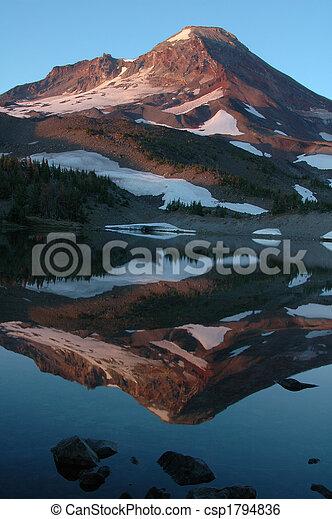 Mountain lake - csp1794836
