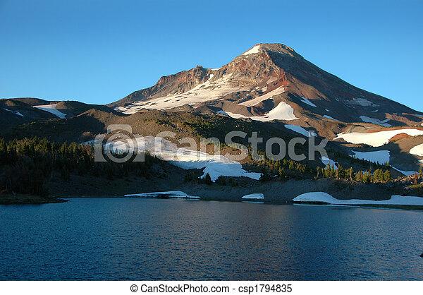 Mountain lake - csp1794835