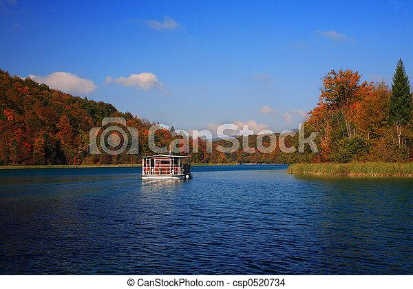 mountain lake - csp0520734