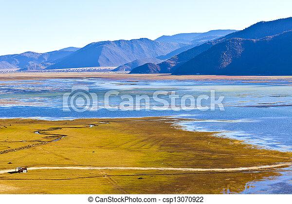 Mountain lake - csp13070922