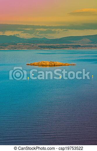 Mountain Lake - csp19753522