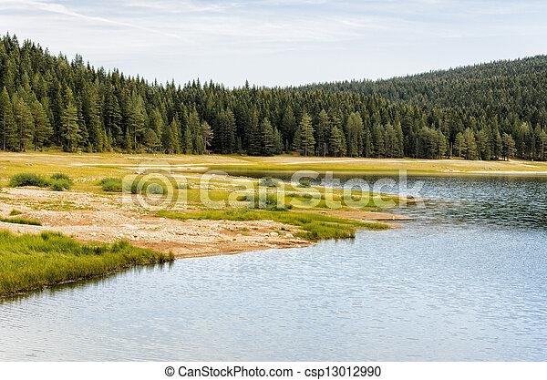 Mountain lake - csp13012990