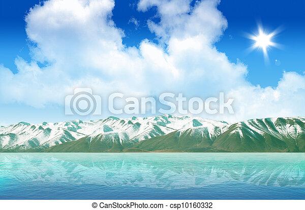 Mountain lake - csp10160332