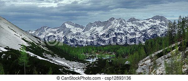 Mountain lake - csp12893136