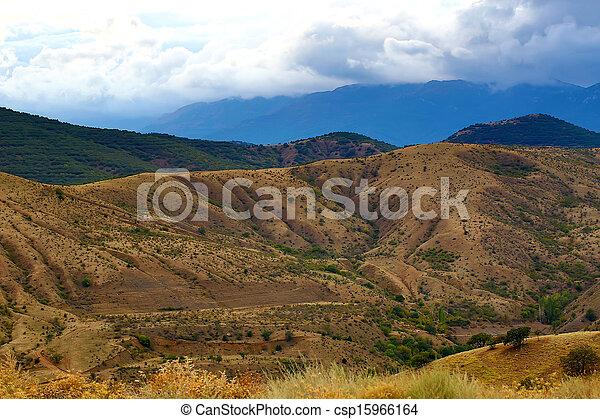 mountain landscape in summer - csp15966164