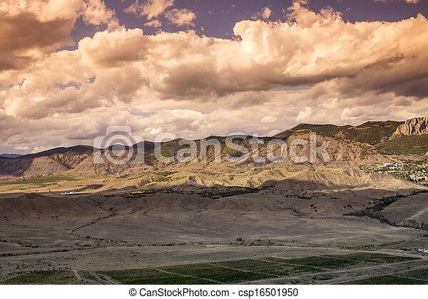 mountain landscape in summer - csp16501950