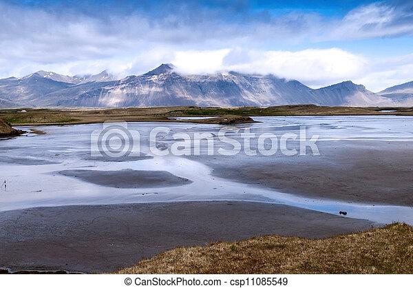 Mountain landscape in summer - csp11085549