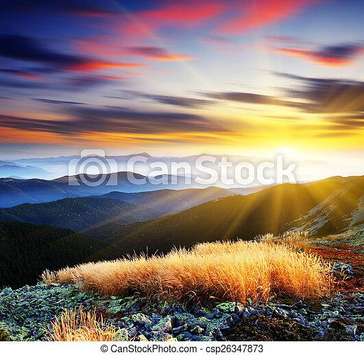 mountain landscape - csp26347873