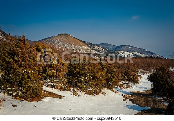 Mountain landscape - csp26943510