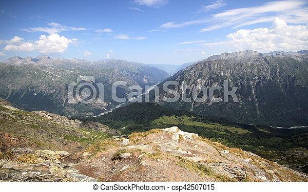 Mountain landscape - csp42507015