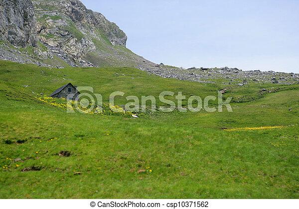 Mountain landscape - csp10371562