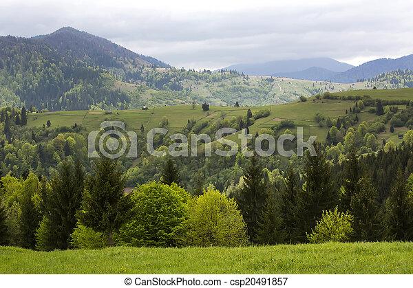 mountain landscape - csp20491857