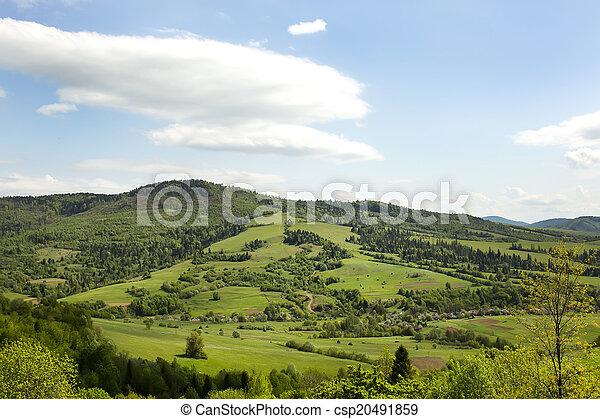 mountain landscape - csp20491859