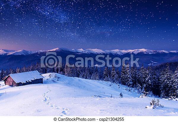 mountain landscape - csp21304255
