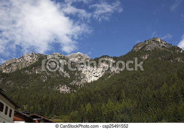 Mountain landscape - csp25491552