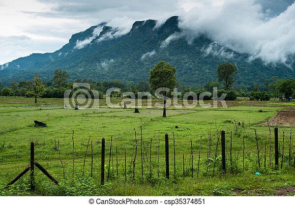 Mountain landscape - csp35374851