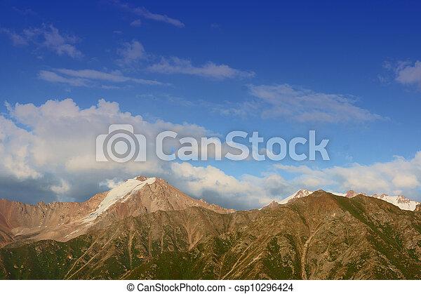 Mountain landscape - csp10296424