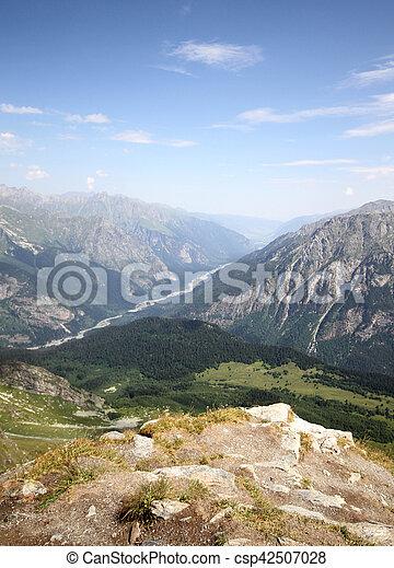 Mountain landscape - csp42507028