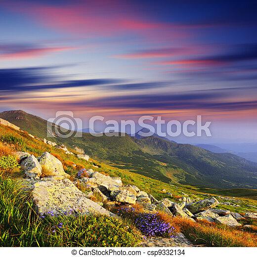 mountain landscape - csp9332134