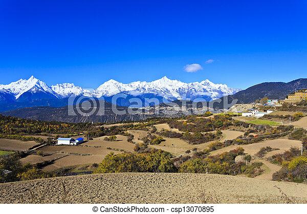 Mountain landscape - csp13070895