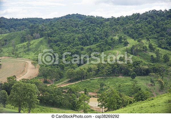 mountain landscape - csp38269292