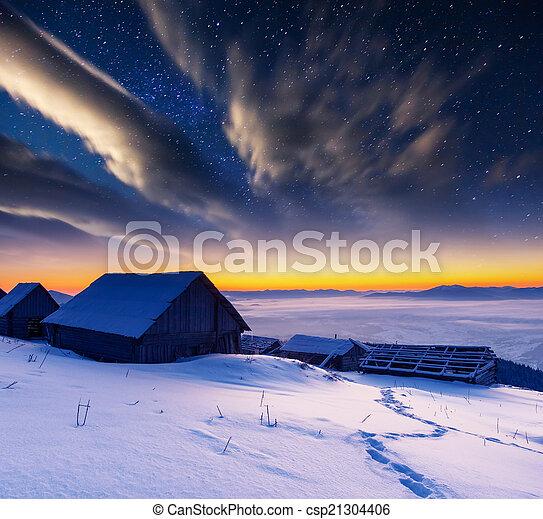 mountain landscape - csp21304406