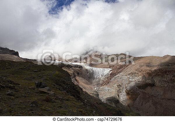 Mountain landscape view - csp74729676
