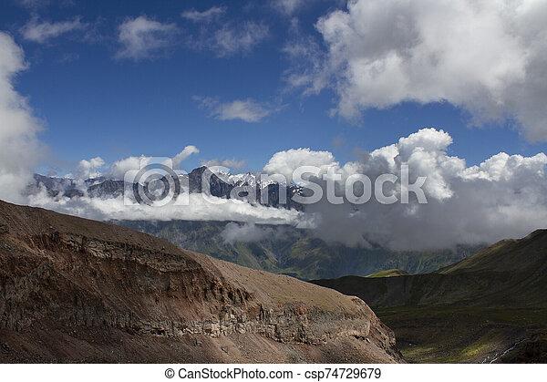 Mountain landscape view - csp74729679
