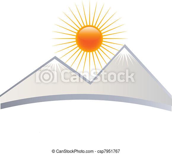 Mountain logo - csp7951767