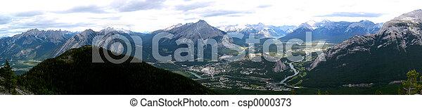 Mountain Panoramic 3 - csp0000373